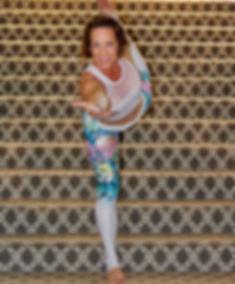 Debby Dowling Yoga Pose Dancer