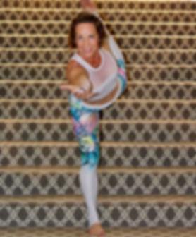 Debby Dowling yoga pose