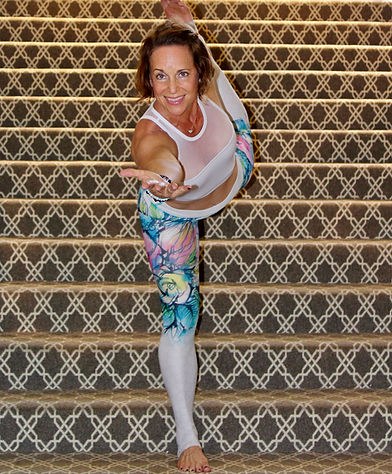 Debby Dowling Yoga Pose Dancer
