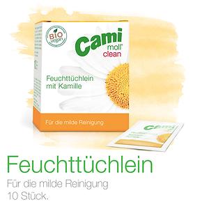 Cami-moll Feuchttüchlein