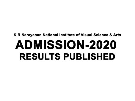 ADMISSION-2020 RESULTS