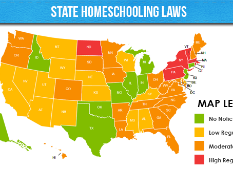 Homeschool Tips: Know Your State Homeschool Regulations