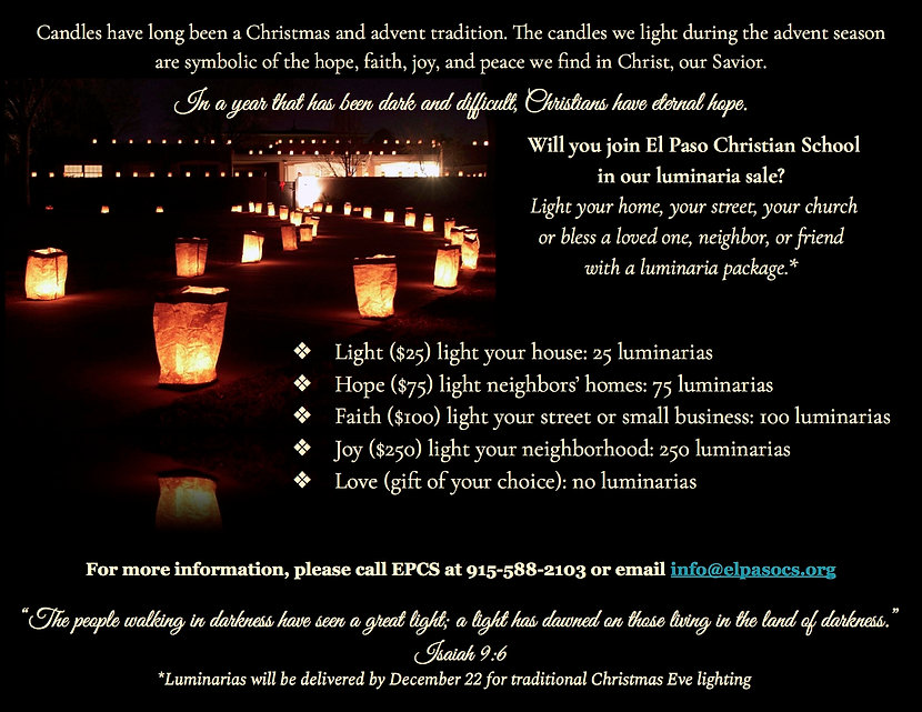 Luminaria Sale Flyer_Final with contact