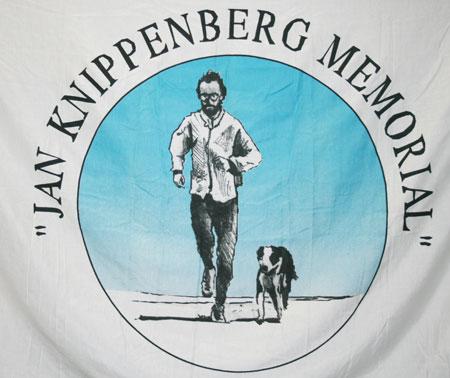 1 vlag JKM ontworpen door Jan Wolkers