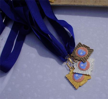 86 aan de finish wachten de welverdiende medailles van de JKM