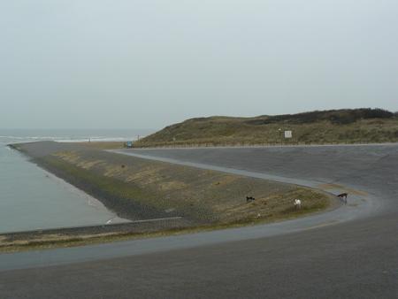 33 terug naar het strand richting Noordwijk