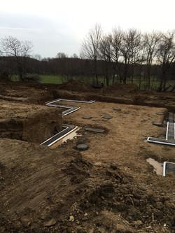 Foundation Excavation - New Home