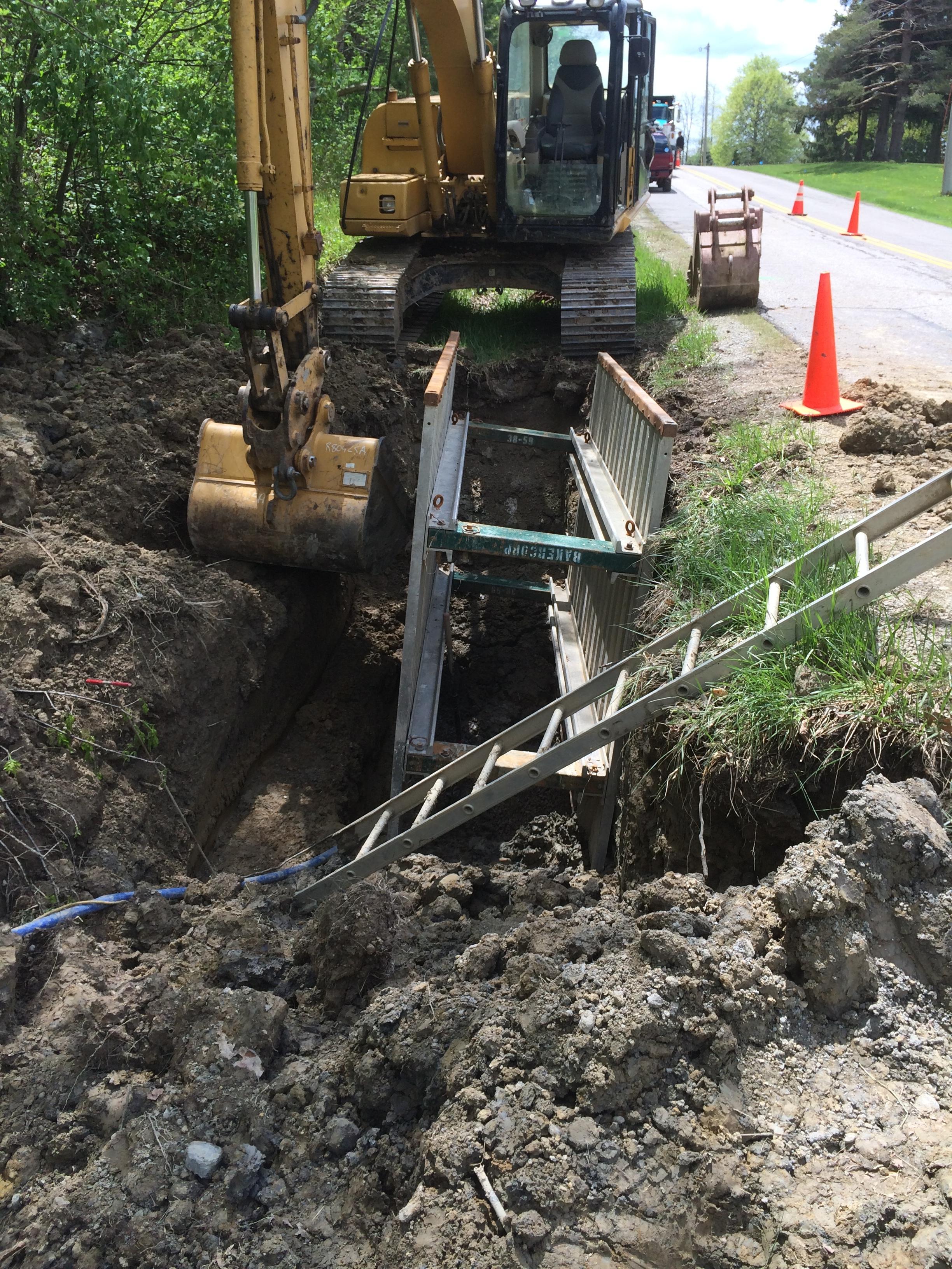 Sewer Install - Medina, OH