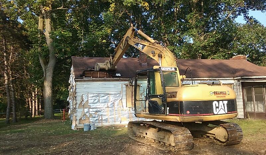 Demolition of Home in Medina, by Belsole Ground Works
