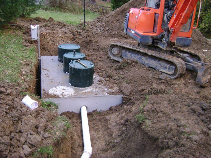 Brunswick, OH - Septic Tank Install