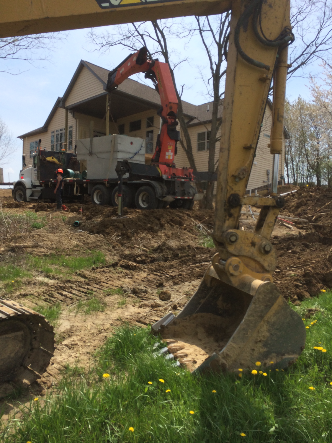 Sharon Township - Septic Install