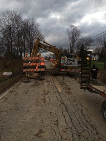 Culvert Replacement in Medina Ohio