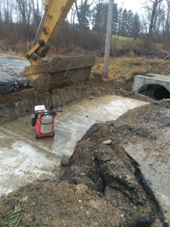 Replacement of Culvert Pipe, Medina