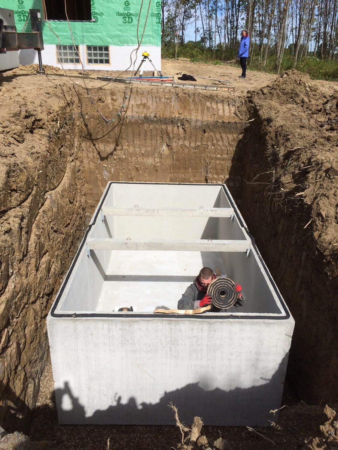 Cistern Installation in Medina, OH