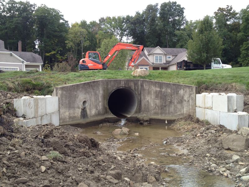 Culvert Pipe Work
