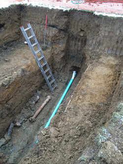 Hinckley, OH - Sewage Line
