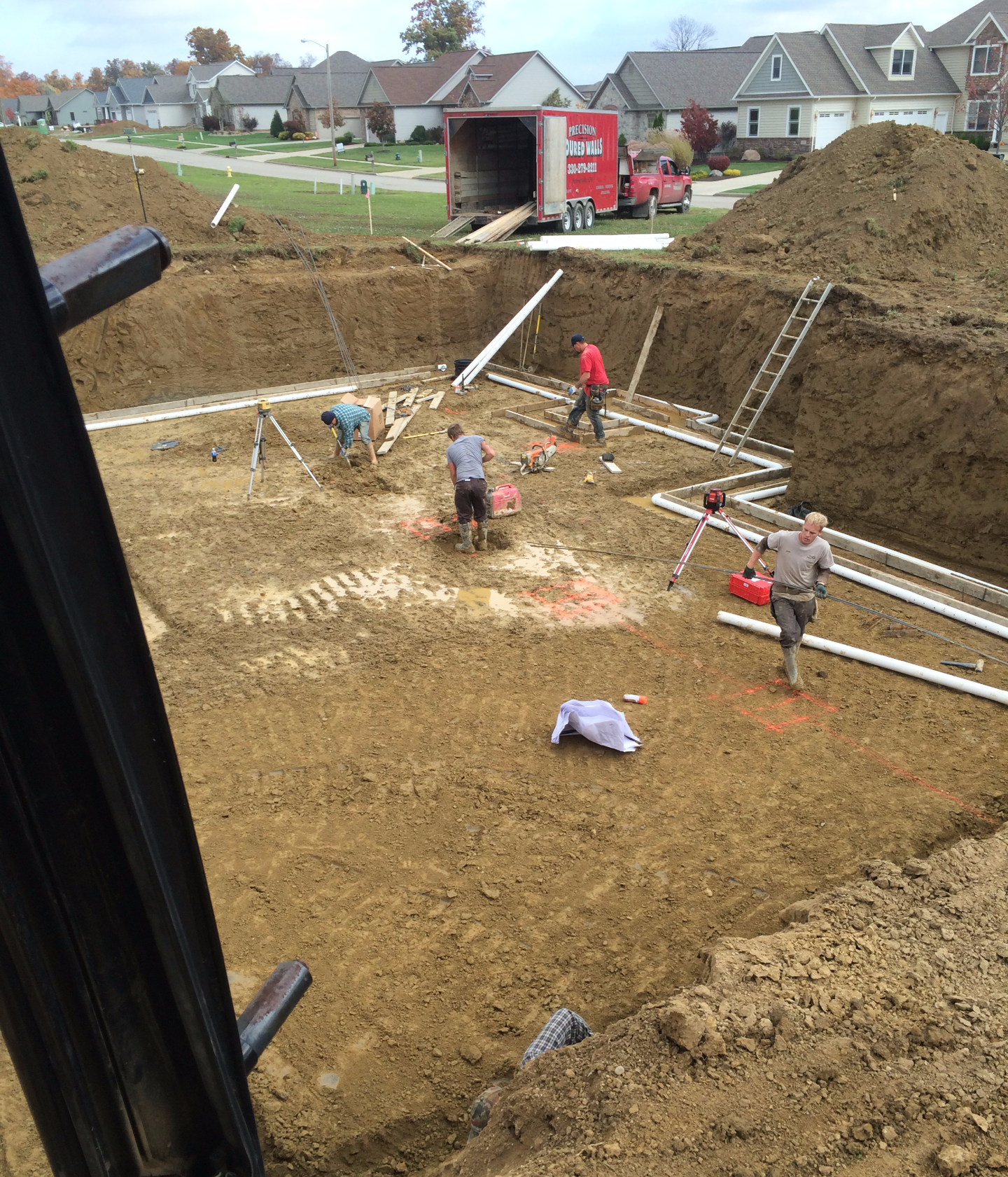 Foundation Excavation - Medina, OHIO