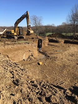 Basement Excavation, Medina OH