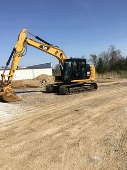 Excavating - Belsole Ground Works