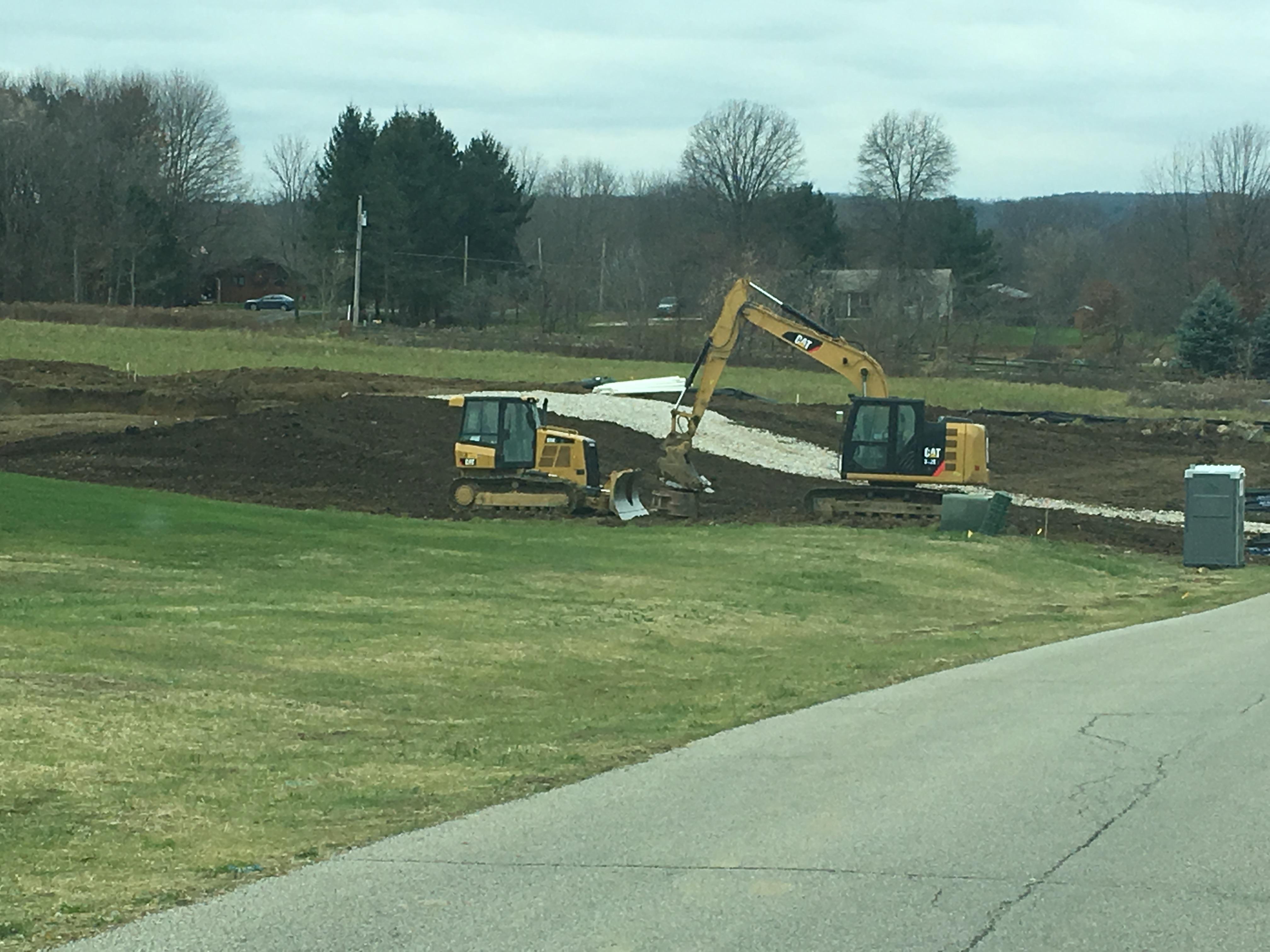 Foundation Dig - Medina, OH