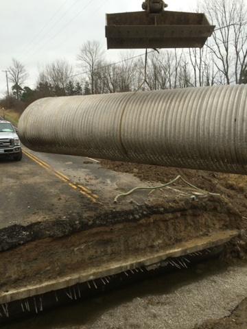 Drainage Pipe - Medina Ohio