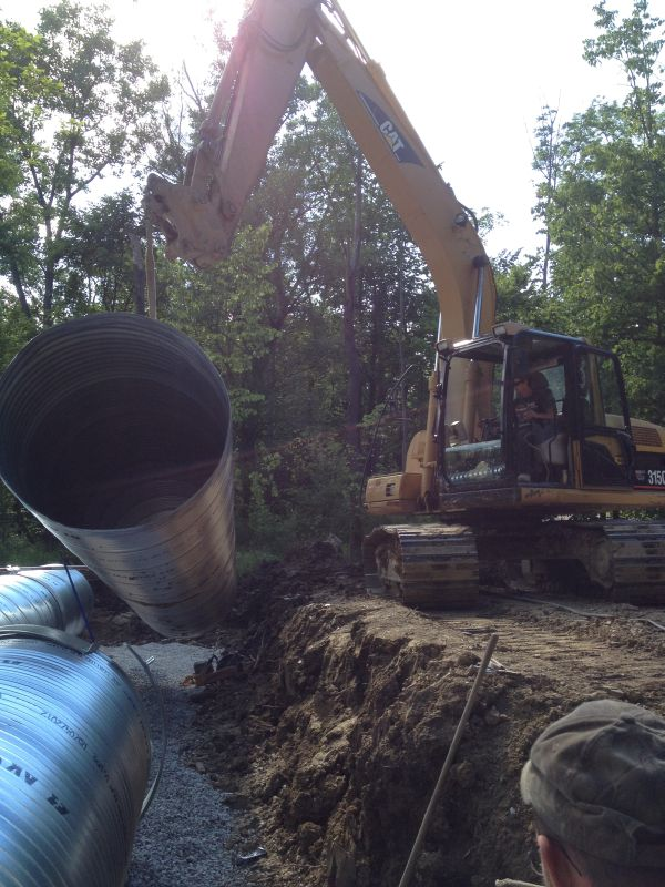 New Culvert Installation