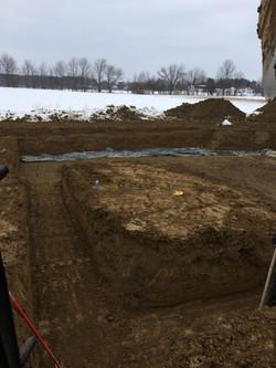 Digging a basement - Medina Ohio