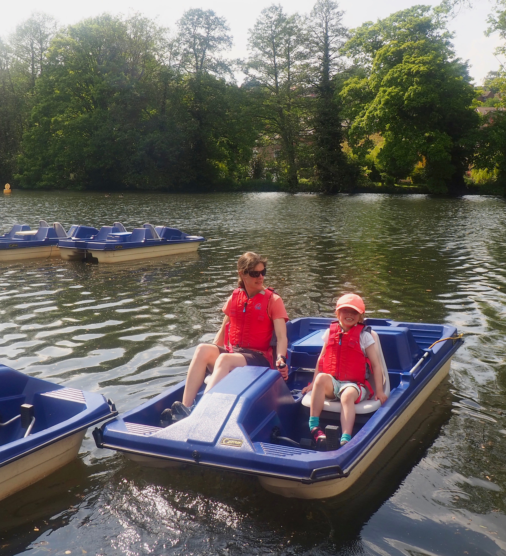 FRI-SUN: Pedal Boat