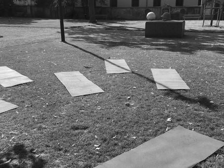 Yoga im Stadtgarten geht weiter