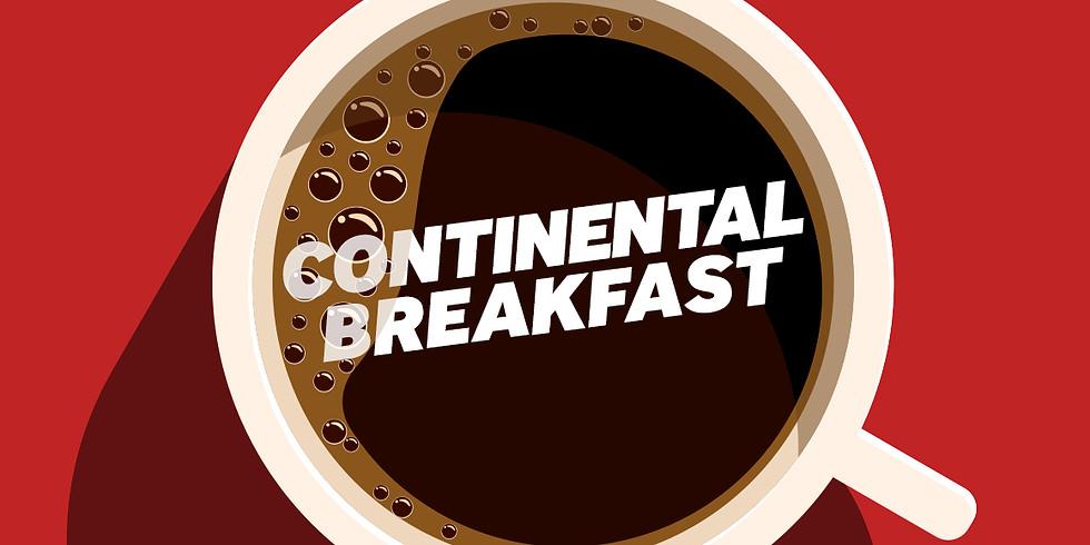 Men's Community Continental Breakfast