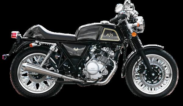 ajs cadwell - 125 café racer motorcycle