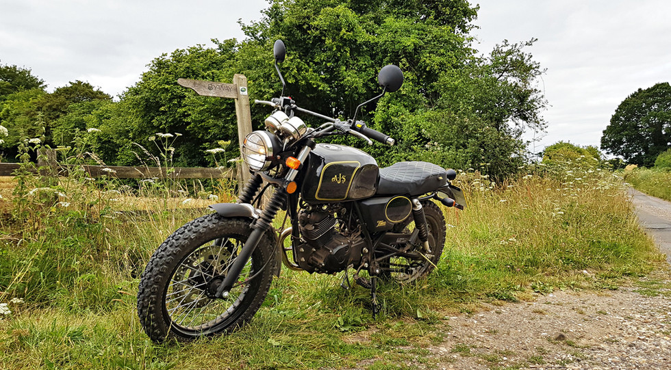 AJS Tempest Scrambler 125-Powered For Ad