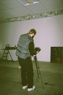 Jacob helping document others' work