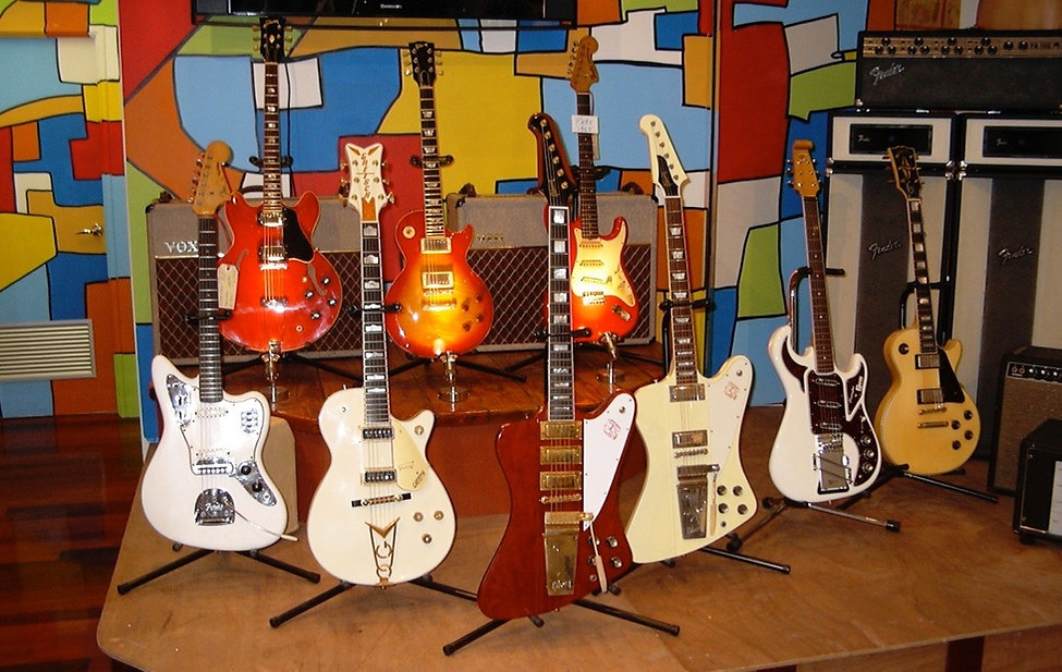 Rics Vintage Guitars Rare Beauties