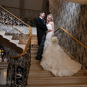 Claire & Mark at Grosvenor Pulford Hotel