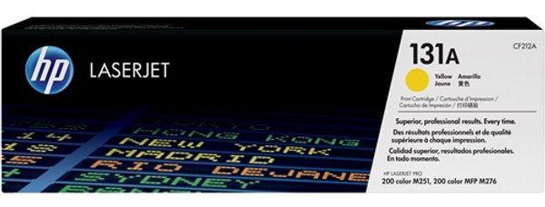 Cartouche d'encre - HP Laserjet 131A (CF212A) - Jaune