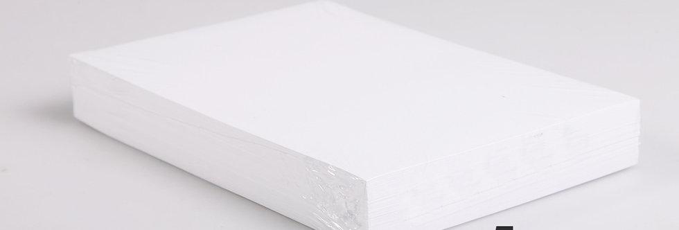 Ramettes de papier A4 Blanc - Carton de 5