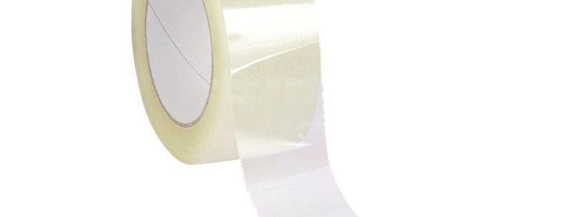 Rouleau adhésif d'emballage transparent 66M
