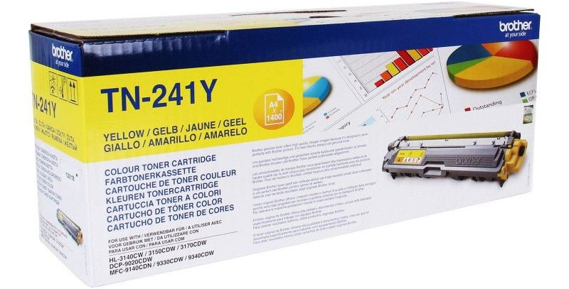 Cartouche d'encre - Brother TN241Y - Jaune