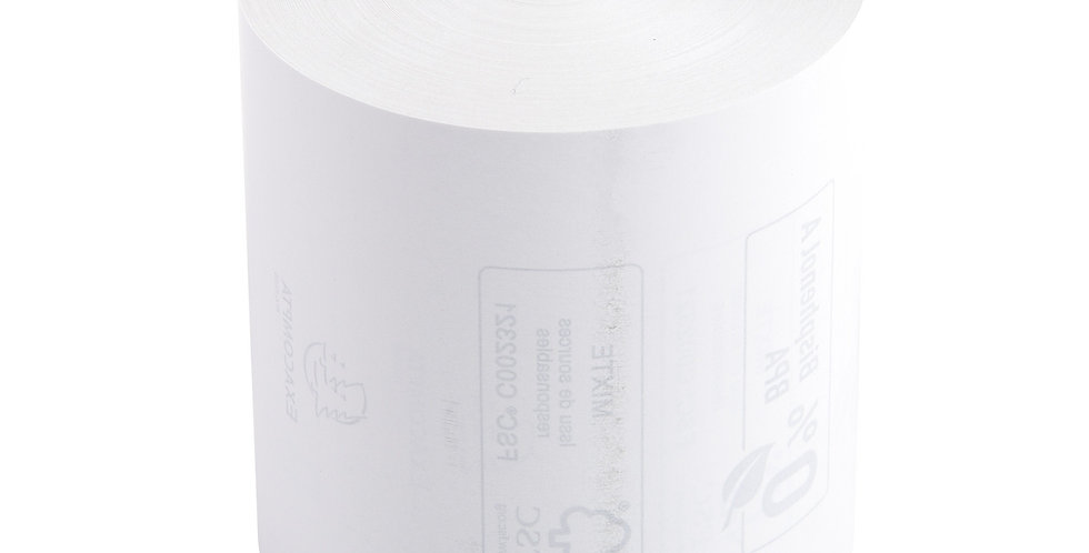 Bobines caisse (80x80x12mm) - Thermique - Lot de 6
