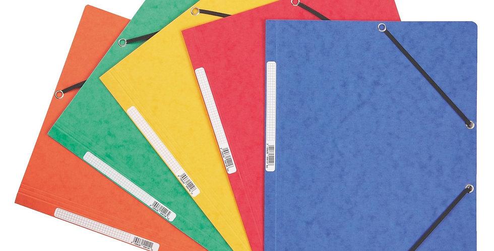 Chemise 3 rabats à elastique - L'unité - Divers coloris