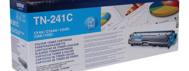 Cartouche d'encre - Brother TN241C - Cyan