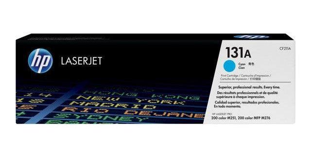 Cartouche d'encre - HP Laserjet 131A (CF211A) - Cyan