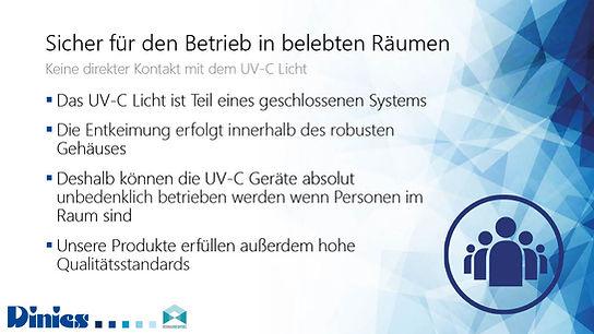 UV-C Anwendungen für Bürogebäude RehaMed