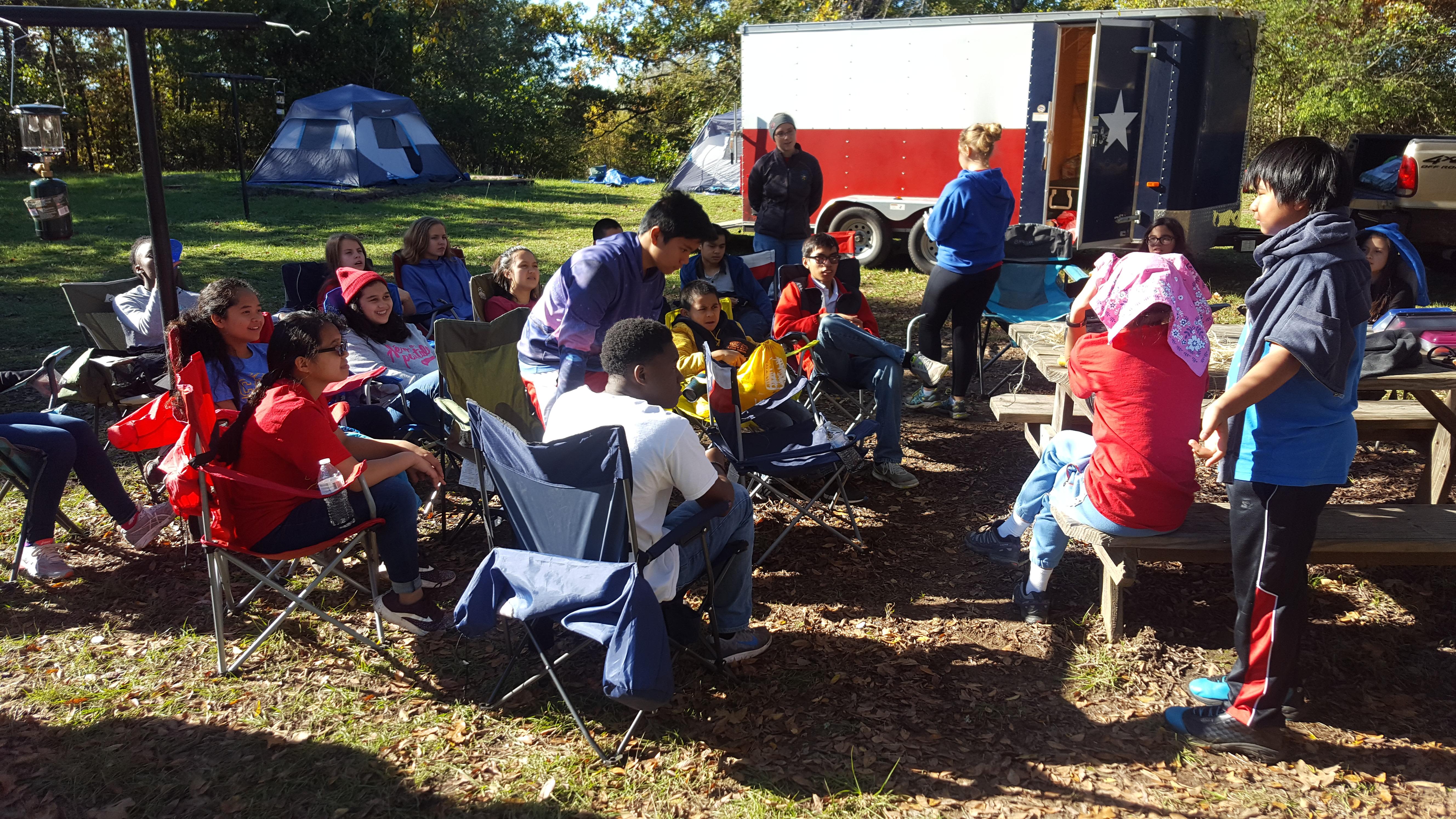 Pathfinder Camping Trip