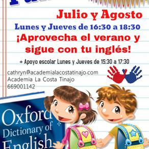 Fun English - Julio y Agosto 2018