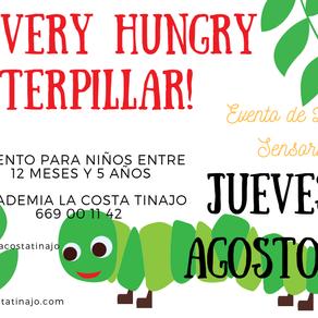 The Very Hungry Caterpillar! Evento gratis de Libro y Sensorial