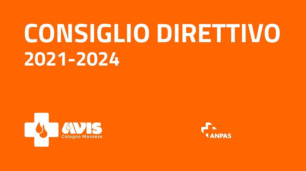 Consiglio Direttivo 2021-2024 AVIS Cologno Monzese ODV