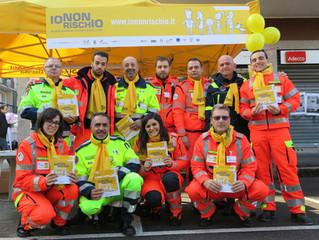 La campagna IO NON RISCHIO raccontata da una volontaria dopo l'esperienza di Bolzano.