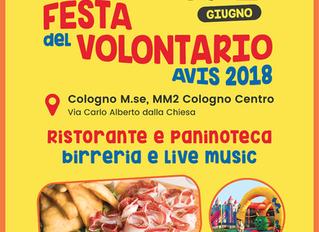 38° FESTA DEL VOLONTARIO AVIS COLOGNO